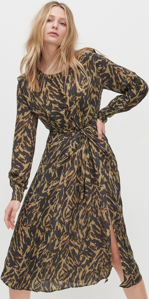 Sukienka Reserved w stylu casual z długim rękawem