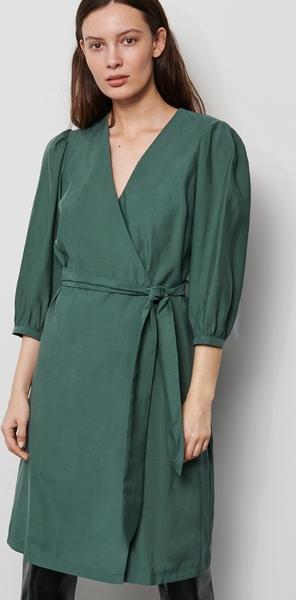 Sukienka Reserved z dekoltem w kształcie litery v z długim rękawem