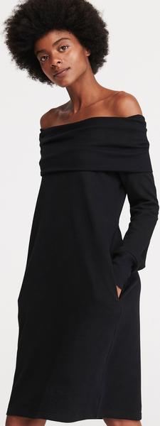 Sukienka Reserved z długim rękawem w stylu casual hiszpanka