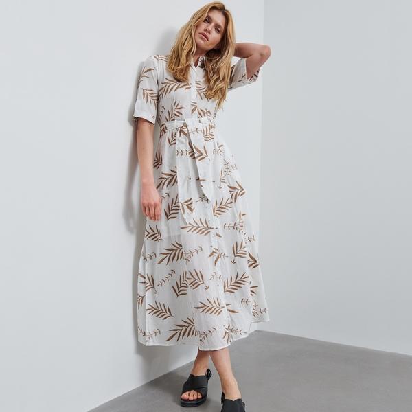 Sukienka Reserved z krótkim rękawem szmizjerka