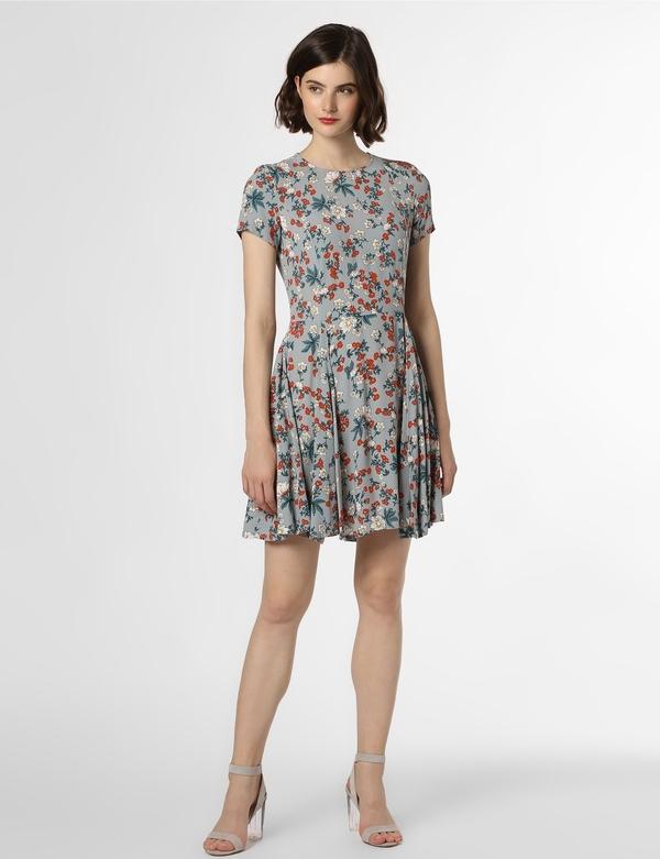 Sukienka Review z krótkim rękawem rozkloszowana mini
