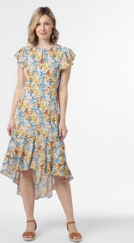 Sukienka Rich & Royal midi z krótkim rękawem