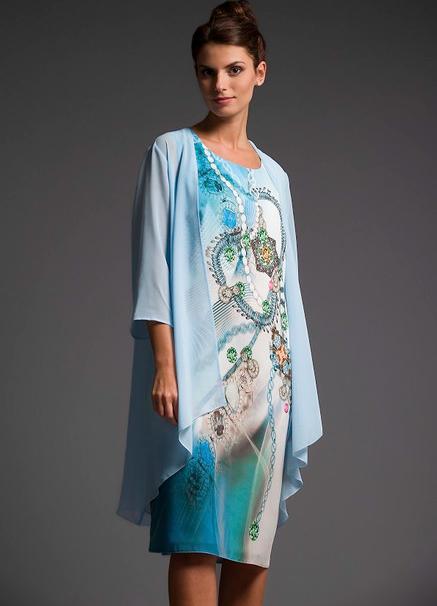 Sukienka Risca z szyfonu