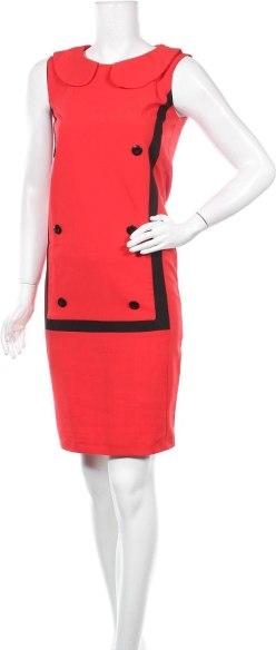 Sukienka Rita Koss prosta z okrągłym dekoltem