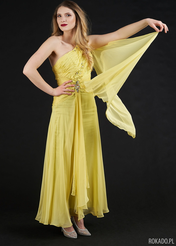 Sukienka Rokado bez rękawów maxi