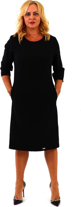 Sukienka Roxana - sukienki z długim rękawem midi