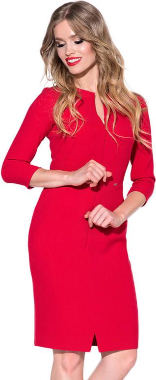Sukienka Ryłko Fashion z długim rękawem mini