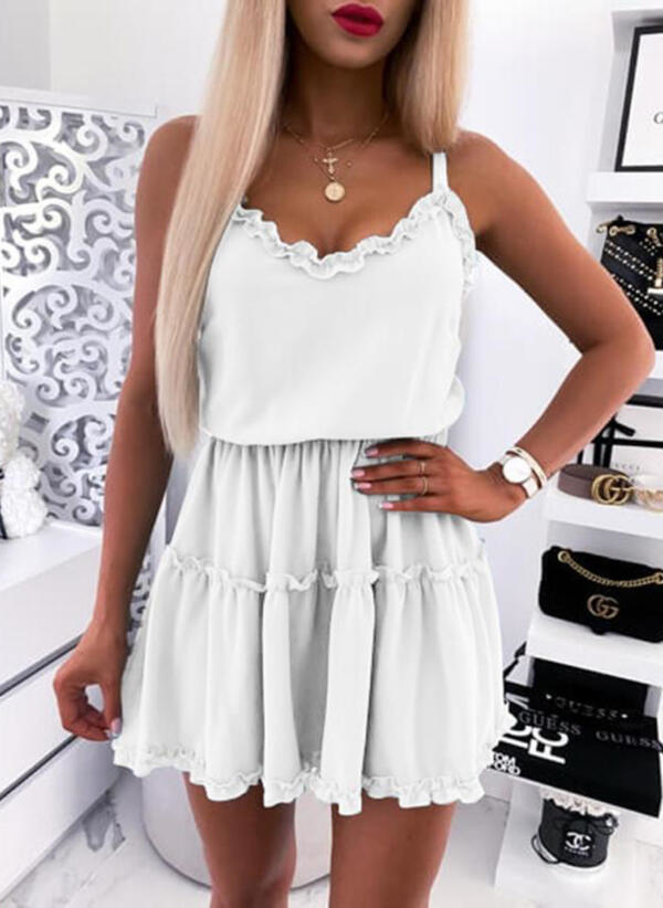 Sukienka Sandbella mini na ramiączkach