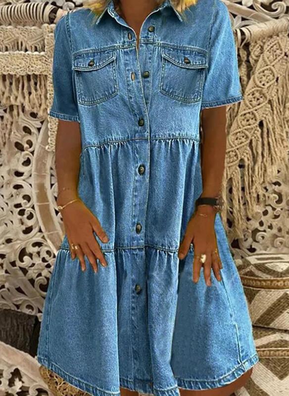 Sukienka Sandbella mini w stylu casual szmizjerka