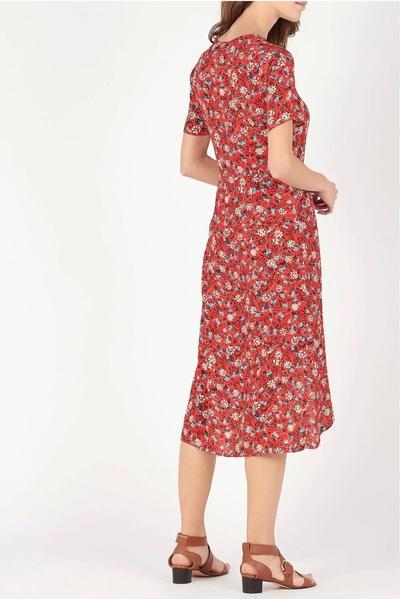 Sukienka See u Soon z dekoltem w kształcie litery v midi
