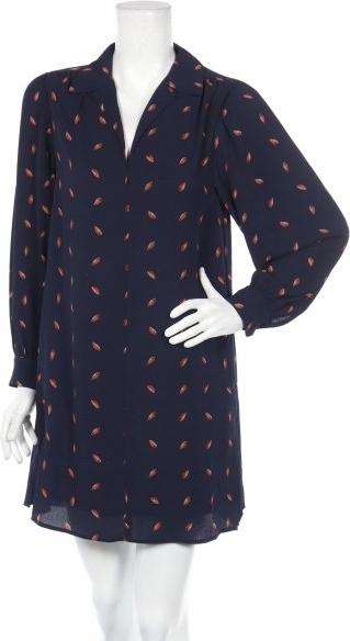 Sukienka See u Soon z długim rękawem z dekoltem w kształcie litery v mini