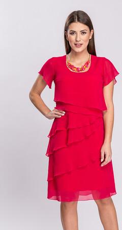 Sukienka Semper z krótkim rękawem