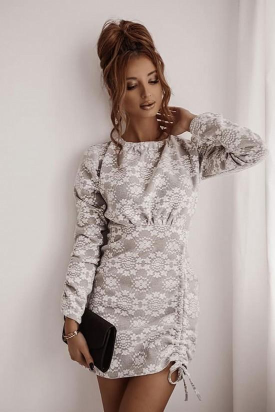 Sukienka Shopaholics Dream z okrągłym dekoltem mini