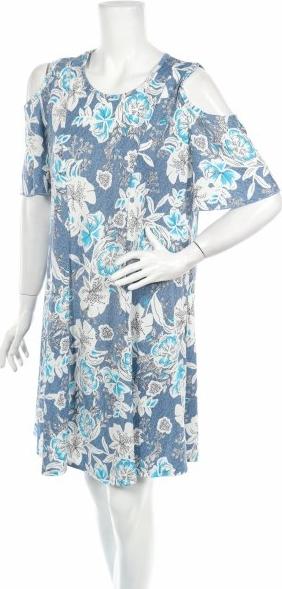 Sukienka Shoreline mini rozkloszowana w stylu casual