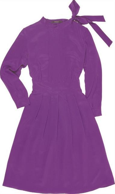 Sukienka Silk Epoque rozkloszowana w stylu casual
