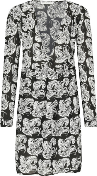 Sukienka Silvian Heach mini w stylu casual z długim rękawem