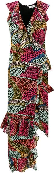 Sukienka Silvian Heach z dekoltem w kształcie litery v bez rękawów