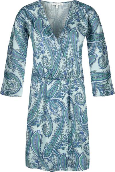 Sukienka Silvian Heach z długim rękawem mini z dekoltem w kształcie litery v