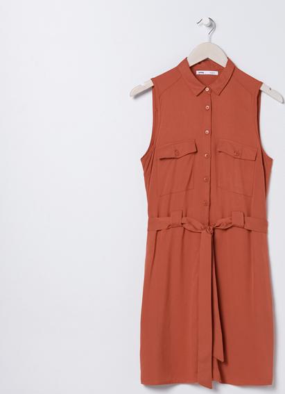 Sukienka Sinsay bez rękawów
