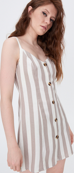 Sukienka Sinsay na ramiączkach mini