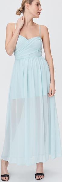 Sukienka Sinsay na ramiączkach z dekoltem w kształcie litery v