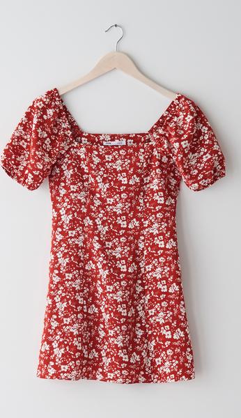 Sukienka Sinsay z krótkim rękawem mini