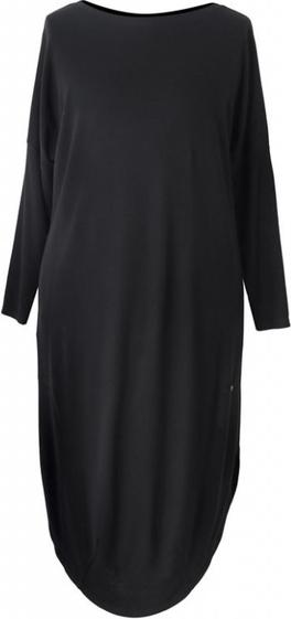 Sukienka Sklep XL-ka z dzianiny