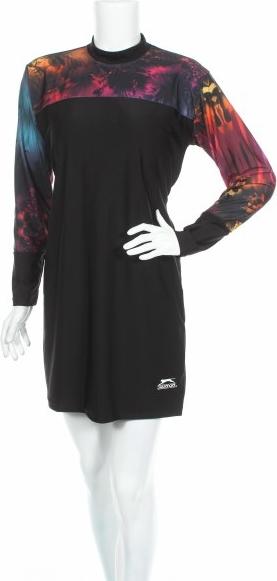 Sukienka Slazenger w stylu casual z długim rękawem mini