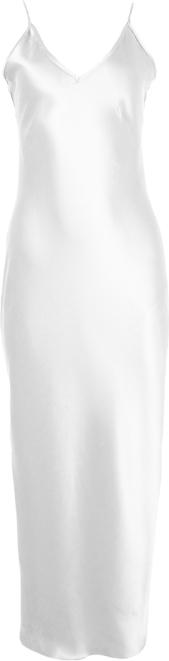 Sukienka So Fluffy na ramiączkach maxi z dekoltem w kształcie litery v