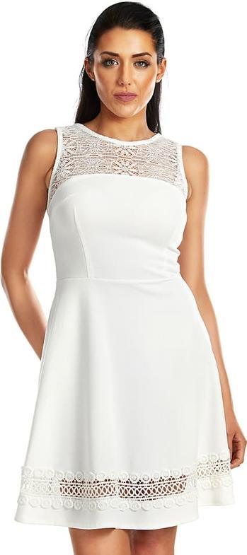Sukienka Special Dresses mini z okrągłym dekoltem