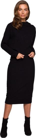 Sukienka Style z długim rękawem midi