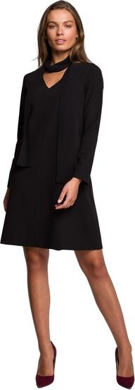 Sukienka Style z długim rękawem mini