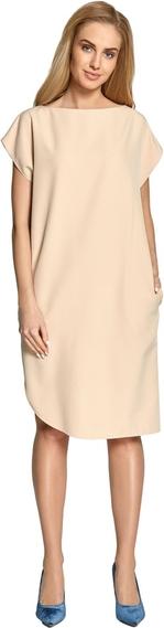 Sukienka Style z okrągłym dekoltem