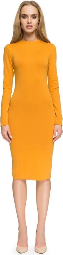 Sukienka Stylove ołówkowa z okrągłym dekoltem