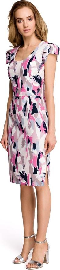 Sukienka Stylove w stylu casual z krótkim rękawem mini
