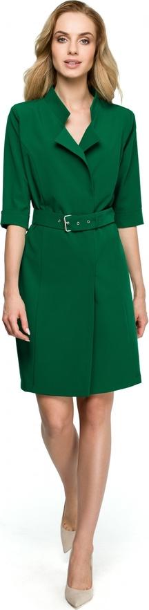 Sukienka Stylove z długim rękawem koszulowa