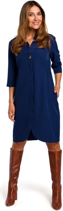 Sukienka Stylove z długim rękawem midi
