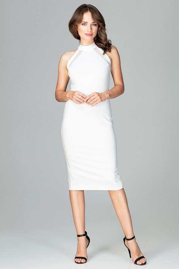 Sukienka sukienki.pl ołówkowa bez rękawów midi
