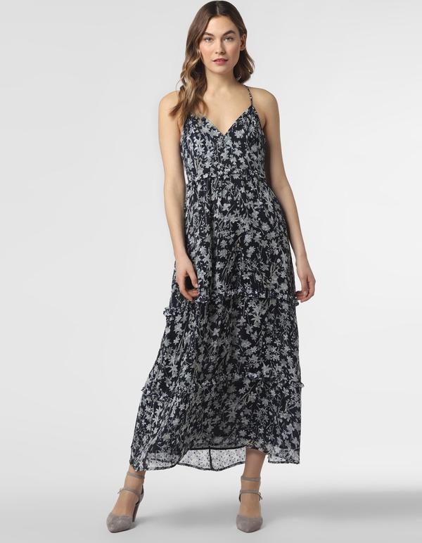 Sukienka Superdry rozkloszowana na ramiączkach z dekoltem w kształcie litery v