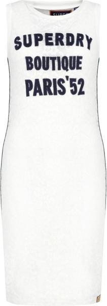 Sukienka Superdry z okrągłym dekoltem bez rękawów