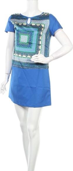 Sukienka Sweet Miss z krótkim rękawem mini