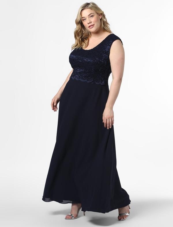 Sukienka Swing Curve na ramiączkach z okrągłym dekoltem maxi