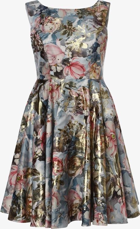Sukienka Swing Curve z okrągłym dekoltem