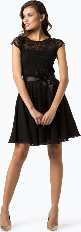 Sukienka Swing mini rozkloszowana z okrągłym dekoltem