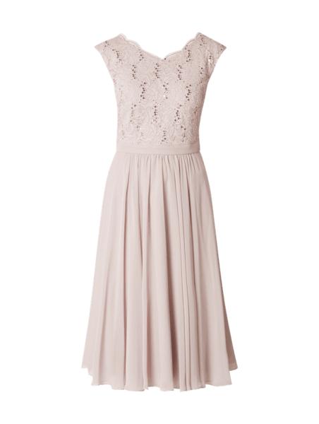 Sukienka Swing w stylu glamour