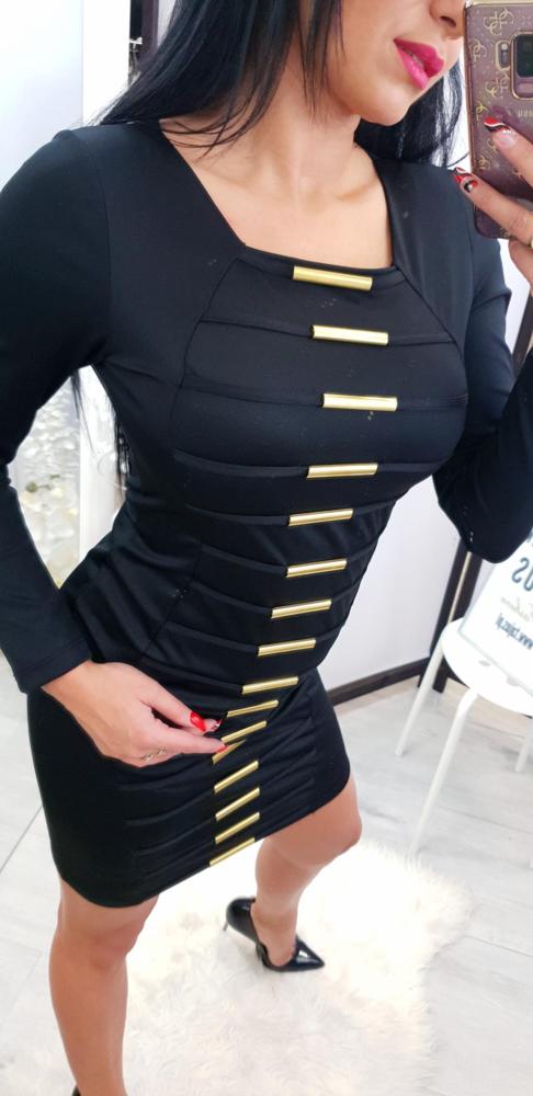 Sukienka Tajus dopasowana