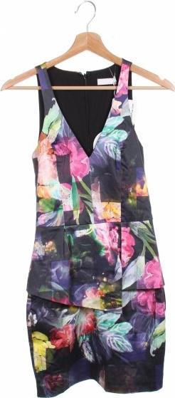 Sukienka Talulah mini z dekoltem w kształcie litery v