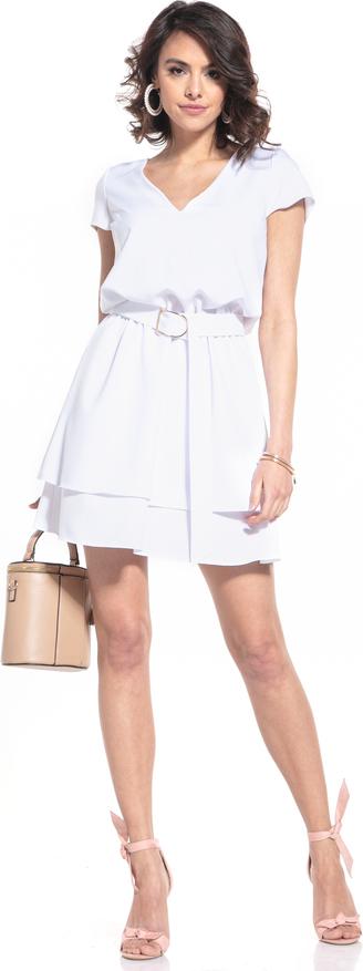 Sukienka Tessita z krótkim rękawem z dekoltem w kształcie litery v
