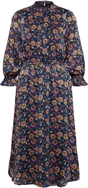 Sukienka Tom Tailor z długim rękawem maxi