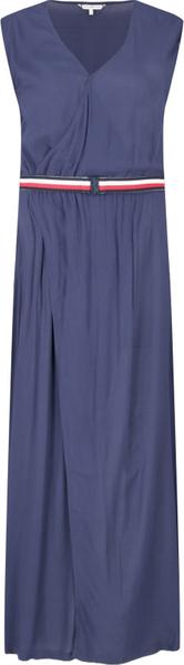 Sukienka Tommy Hilfiger bez rękawów w stylu casual prosta